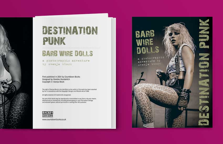 Destination Punk photobook